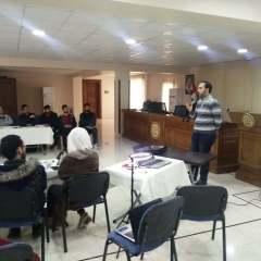 Hexabitz workshop in the Aleppo Chamber of Industry