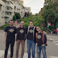 Hexabitz team on the road to Maker Faire Bay Area!