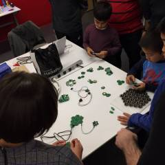 Hands-on workshop whit Microsoft Garage - San Francisco. Day 2 - Family day with Microsoft employees and their kids!